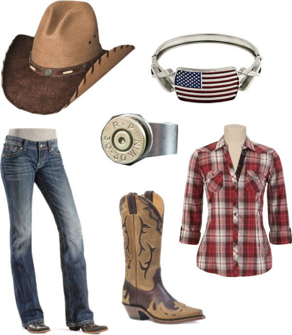 """Real Country Girl"" by mmckean on Polyvore"