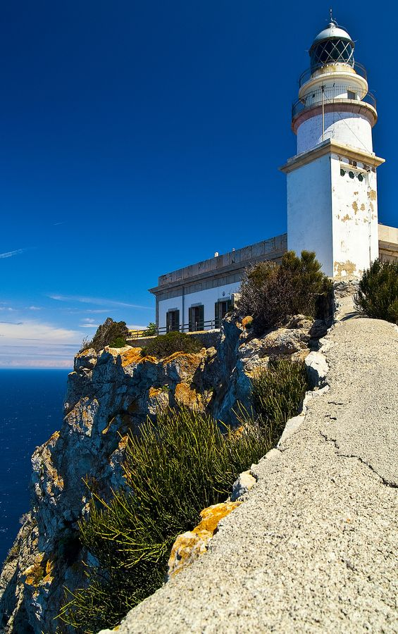 Formentor Lighthouse, Majorca, Spain.I want to visit here one day.Please check out my website thanks. www.photopix.co.nz