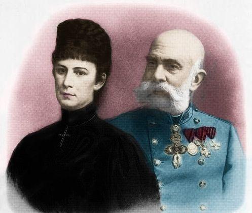Elisabeth and Franz Joseph by Esmezja.deviantart.com on @DeviantArt