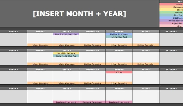February 12, 2016 // 7:00 AM The Social Media Content Calendar Template Every Marketer Needs [Free Template]