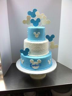 Baby Mickey birthday cake #luckytreats #mickey