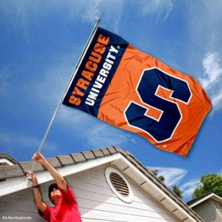Syracuse Orange Outdoor Flag | Popular Demand Flags ...