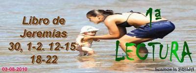 LECTURAS DEL DIA: Lecturas y Liturgia del 5 de Agosto de 2014 Jeremias 30, 1-2  12-15   18-22 Salmo 101. 16-18  21-29   22-23 Mateo 14, 22-36