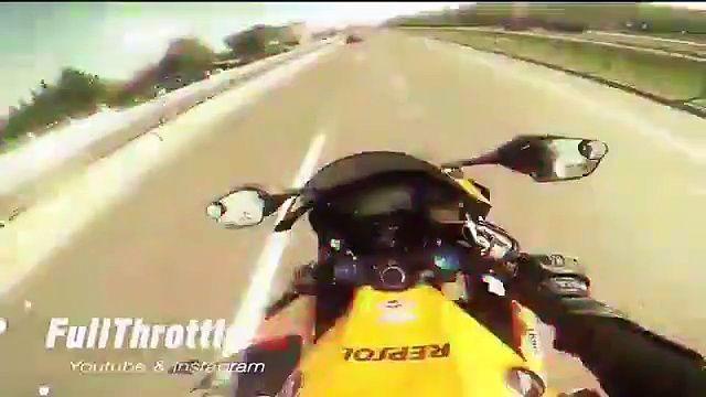 voiture vs Moto Course folle à haut risque dans l'autoroute - http://www.newstube.fr/voiture-vs-moto-course-folle-a-haut-risque-lautoroute/ #Course, #Moto, #VidéosCourse, #Voiture