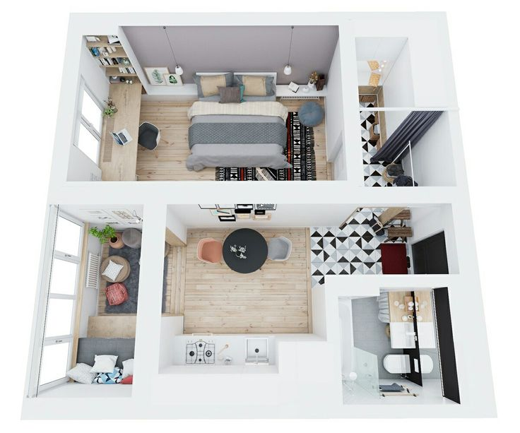 8 besten appart 50m2 bilder auf pinterest apartments mit for 50m2 wohnung einrichten
