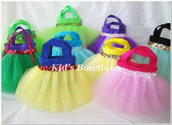 Disney Princess Party Favor Bags