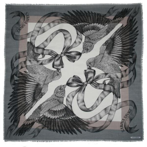 Sparrow Silk & Wool Scarf by Sabina Savage