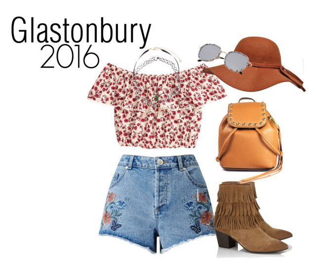 """""""Glastonbury 2016!"""" by darling-ange1 ❤ liked on Polyvore featuring H&M, Miss Selfridge, Monsoon, Lipsy and Rebecca Minkoff"""