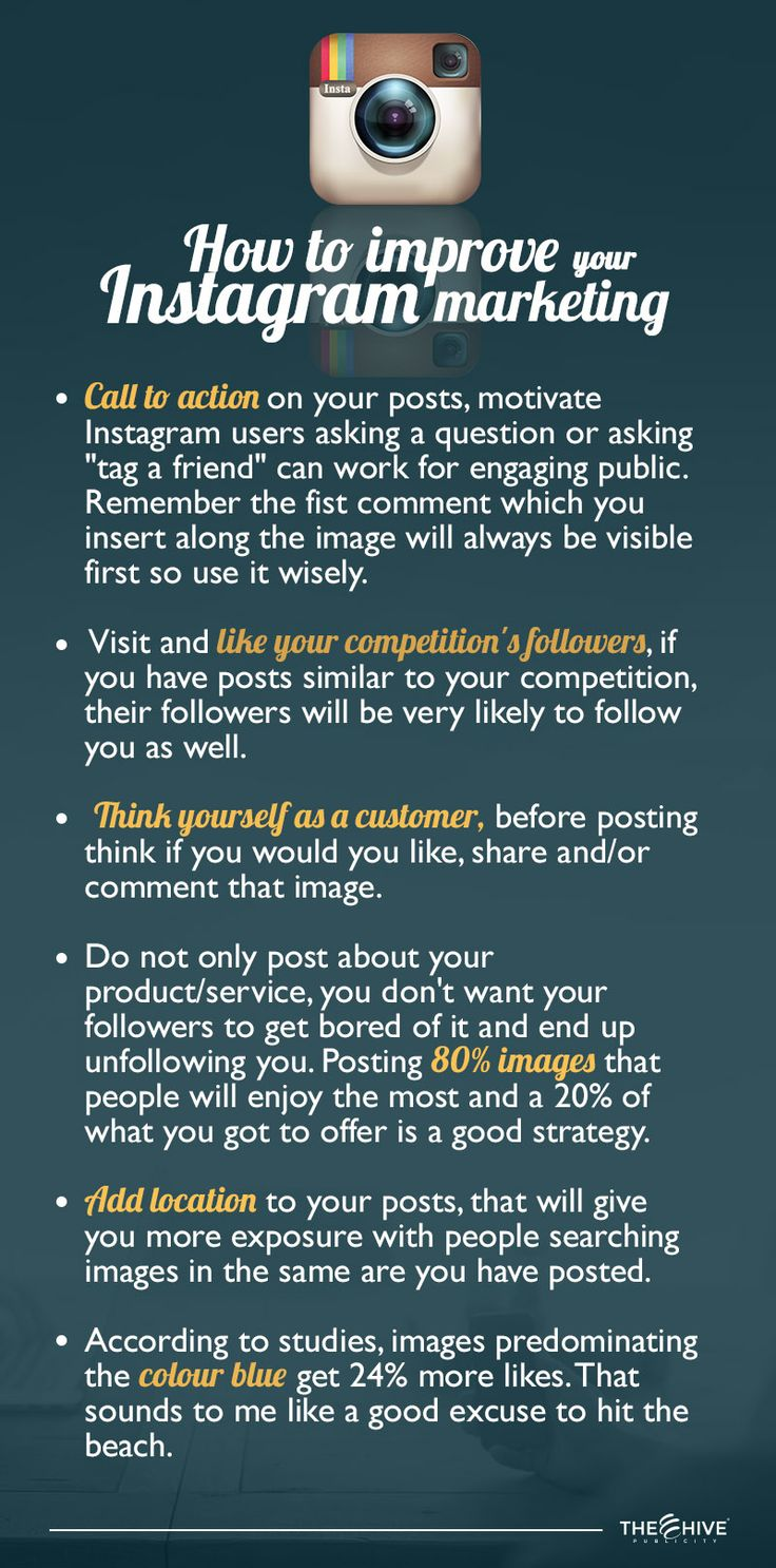 We've previously shared some tips for your Social Media Marketing on Instagram. Now we are reinforcing that information with a few more tips. We hope you all find it helpful !