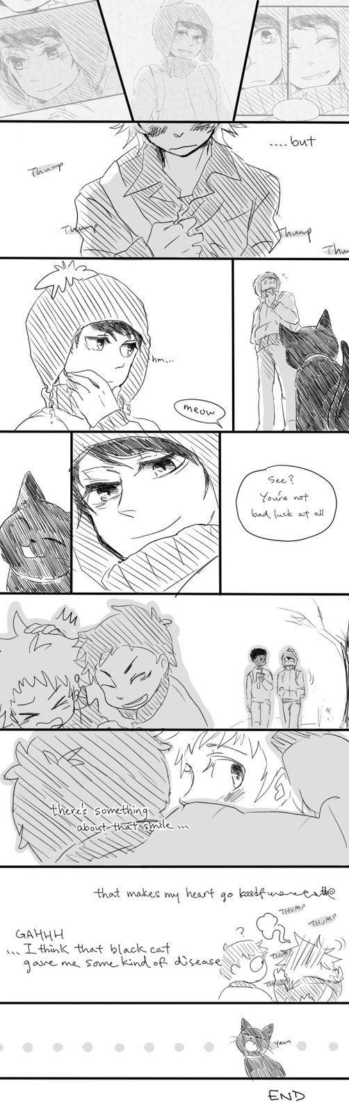 oh dat smile~ Page 6 Prev: Next: First: *Tweek, Craig (South Park) *Paint Tool SAI