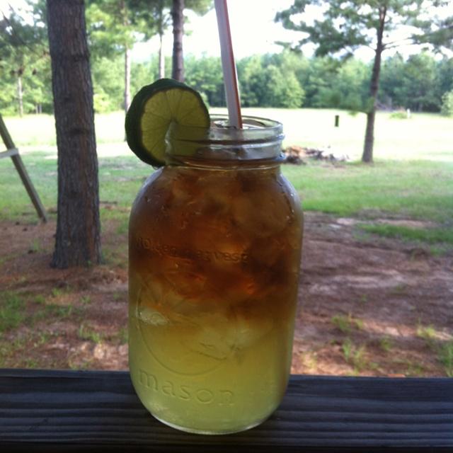 Hillbilly mason jar long island ice tea yee haw for Craft party long island
