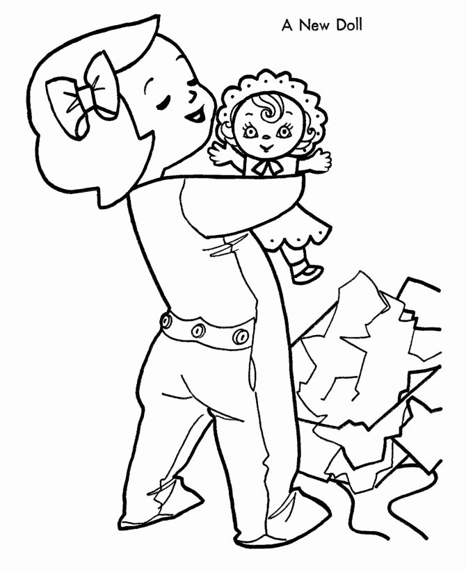 32 Baby Doll Coloring Page In 2020 Coloring Pages Baby Dolls Free Coloring Pages