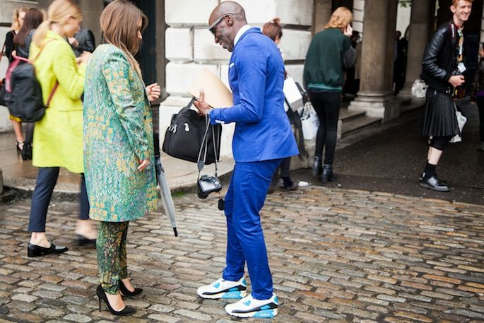 London Fashion Week Street Style Day 1 16