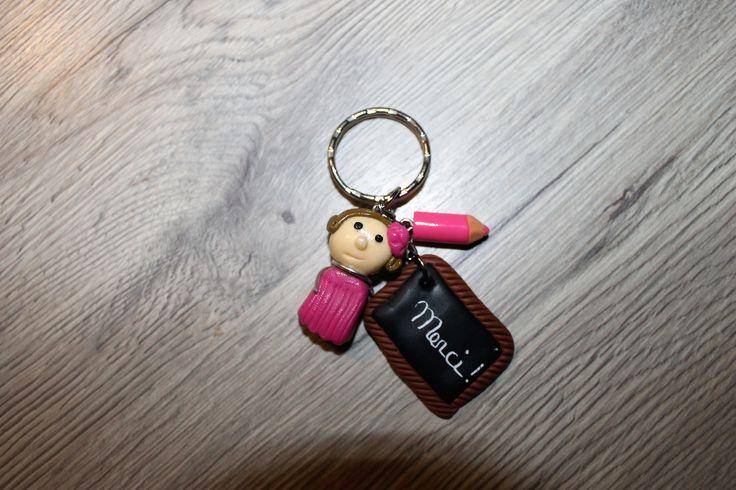 """porte clés personnalisable """" merci """" : Porte clés par 1001-plaisirs"""