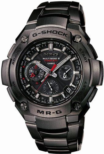 This G-Shock MR-G Titanium case and strap make this watch anti scratch and lightweight you will comfortable to this watch when wearing or touch, there are using super hard sapphire crystal on this …