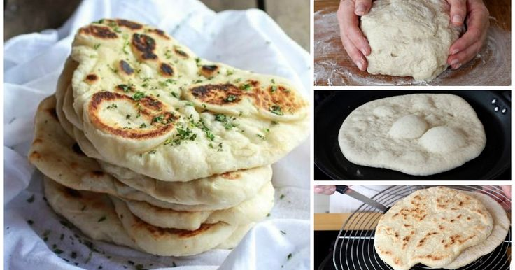 Ecco la ricetta passo passo per preparare facilmente un ottimo pane Naan fatto in casa.