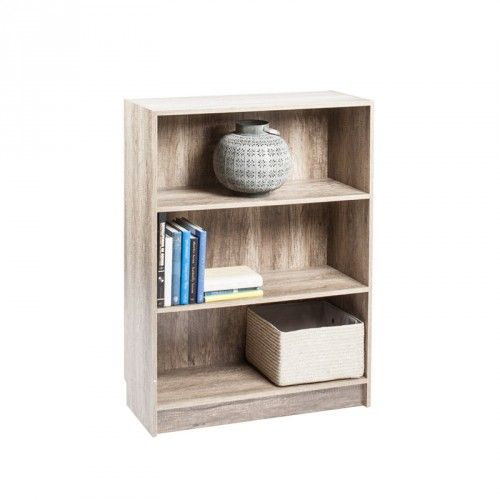 DANNY Bookcase Wide (Canyon Oak)