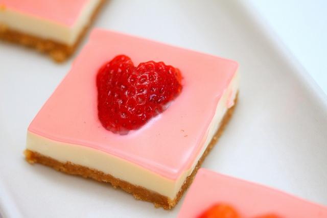 Strawberry Cake Recipe With Jelly: Valentine's Day Jelly Hearts Dessert Recipe