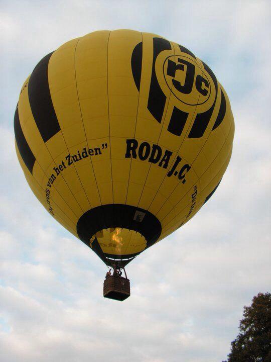 In de roda jc luchtballon