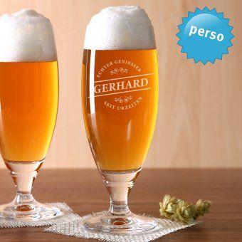 #perso #personalisiert #personalized #beer #gift Personalisierbares Bierglas mit Namensgravur. Personalized Beer Jar engraved with desired name