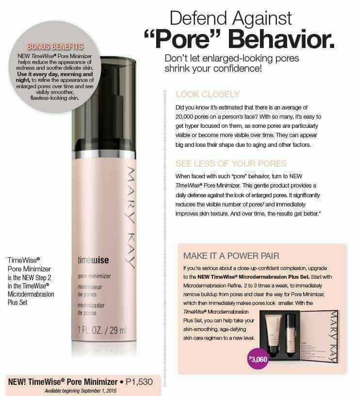 The Pore Minimizer Is A Part Of My Daily Routine Marykay Mary