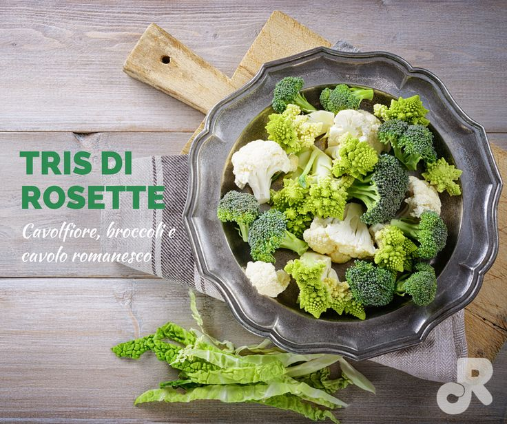 #Broccoli, #Cavolfiore e #Cavolo #Romanesco. Tre bontà in una sola confezione!  #riverfrut #cottintavola #vegetables #veg #vegetarian #steamed #steam #green #healthy #food