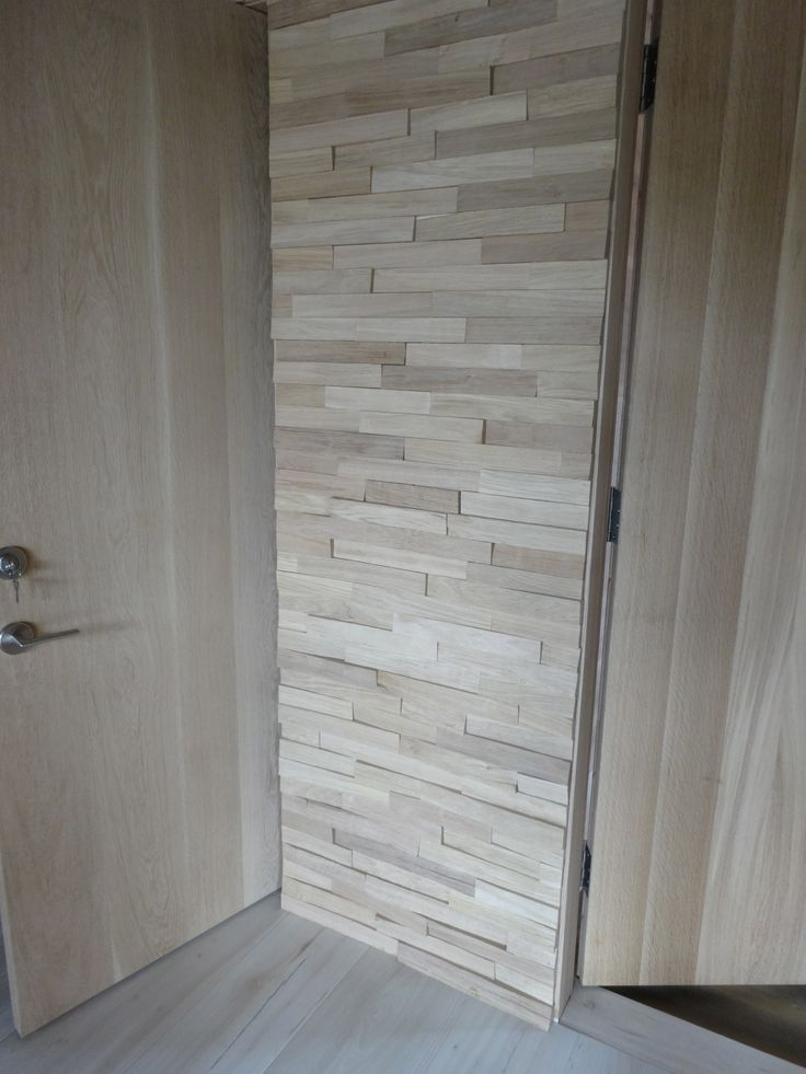 3-Dimensional Wood Tile for fireplace surround ...