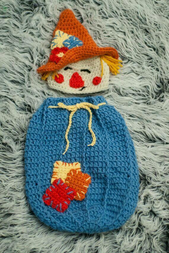 Espantapajaros crochet
