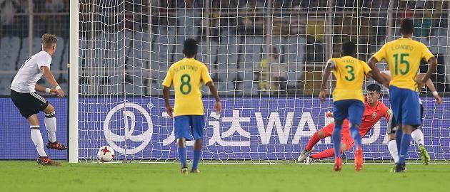 U-17 WM in Indien: Brasilien - Deutschland 2:1 -Deutsche verliere nach großem Kampf