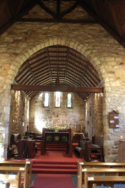 Inside St Andrew's Chapel, Newlands Cape Town - South Africa