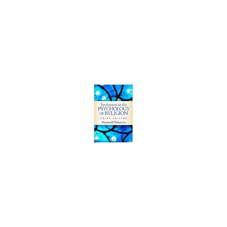 Invitation to the Psychology of Religion (Paperback) (Raymond F. Paloutzian)