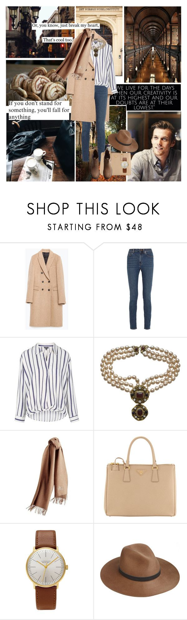 """""""""""He that loves pleasure must for pleasure fall.""""  ― Christopher Marlowe"""" by azomyr20 ❤ liked on Polyvore featuring Dolce Vita, Zara, Yves Saint Laurent, Topshop, Burberry, Prada, Junghans, rag & bone and H&M"""