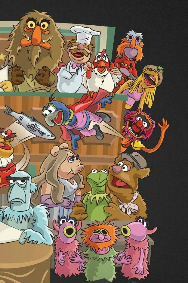 THE MUPPETS 1 | muppets | Grover muppets, The muppet show