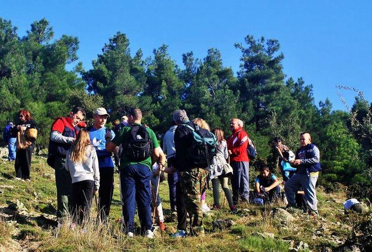Πεζοπορία και κοπή πίτας από την Ομάδα φίλων του βουνού και του δάσους