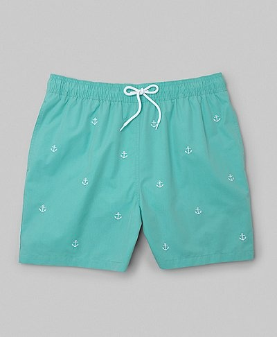 Brooks Brothers- South Hampton Embroidered Swim Trunks