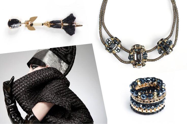 """Новая коллекция Beatrice! Графика и геометрия теперь не только в школе, но и на мировых подиумах! Геометрические украшения - это """"must-have"""" нового сезона, не пропустите их в нашем каталоге wink emoticon  #selenajewelry #beatrice #handmade #handmadejewelry #beadsnecklace #bnw #geometry #graphic #bijouterie #statementnecklace #earrings #beadsring #style #fashion #бижутерия #украшенияручнойработы #украшения #чернобелое #графика…"""