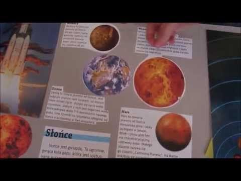 Kosmiczny lapbook - YouTube