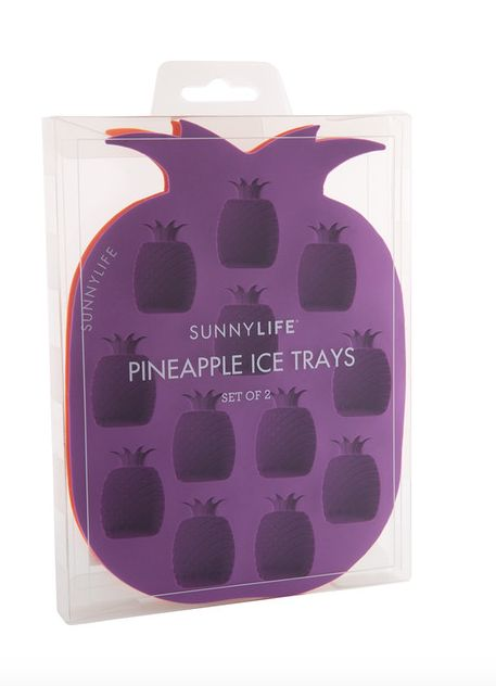 These ice trays to make pineapple-shaped ice. | 28 Products For People Who Think Pineapples Are Cute