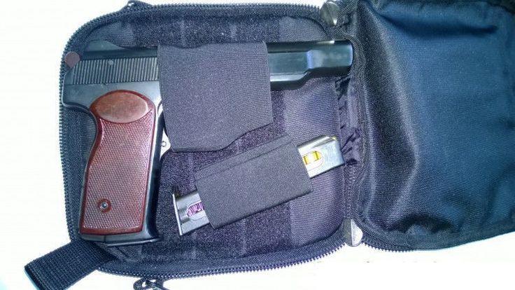 Кобура сумка для скрытого ношения пистолета ночь   Спортивные товары, Охота, Хранение оружия   eBay!