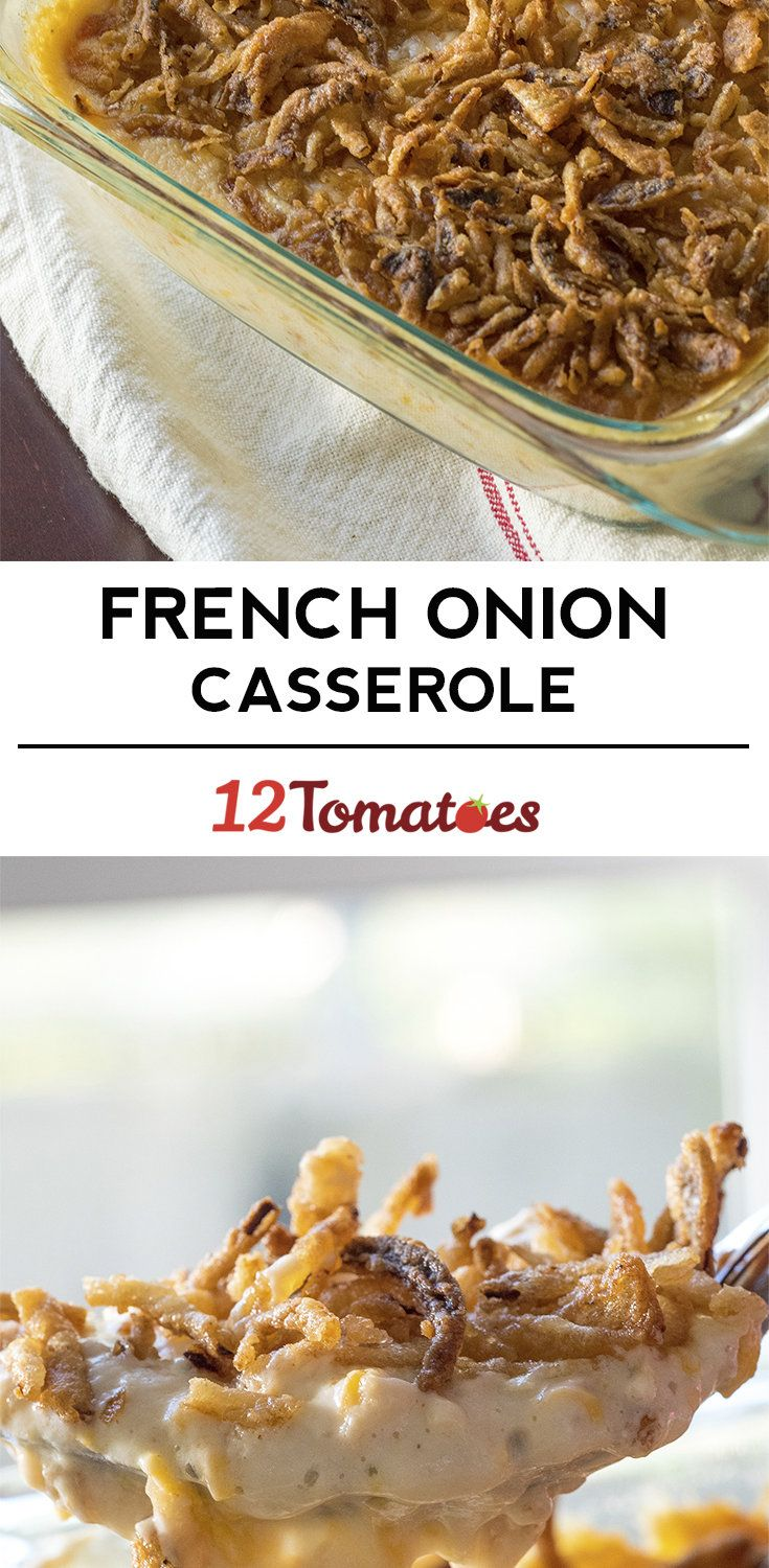 Crispy French Onion Casserole