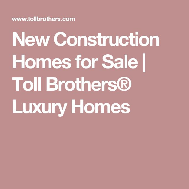 Roswell Luxury New Construction Homes: 25+ Best Ideas About Toll Brothers On Pinterest