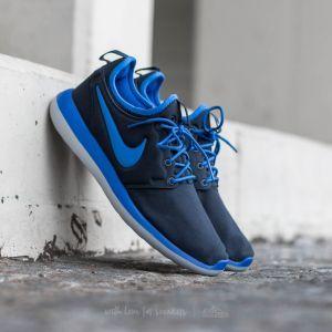new styles 8c9e3 26c04 Nike Roshe Two (GS) Dark Obsidian  Hyper Cobalt