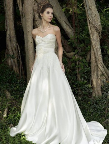 254 best june 22 2013 for Simple romantic wedding dresses