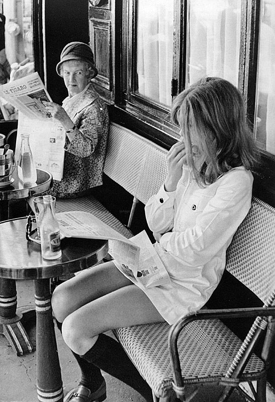 by Henri Cartier-Bresson