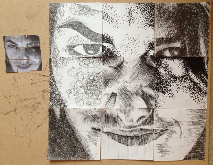chuck close drawing assignment