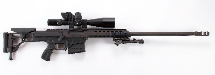 CheyTac Intervention. Bolt action sniper rifle manufactured by CheyTac LLC for long range soft target interdiction. It is fed by a detachable single stack magazine, which holds 7 rounds. It fires .408 Chey Tac or .375 Chey Tac ammunition