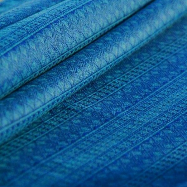 Didymos Prima (Indio) Ultramarine.  Fabric: 100% organic cotton  Surface weight: 210 g/m²  Age of child: From newborns to toddlers