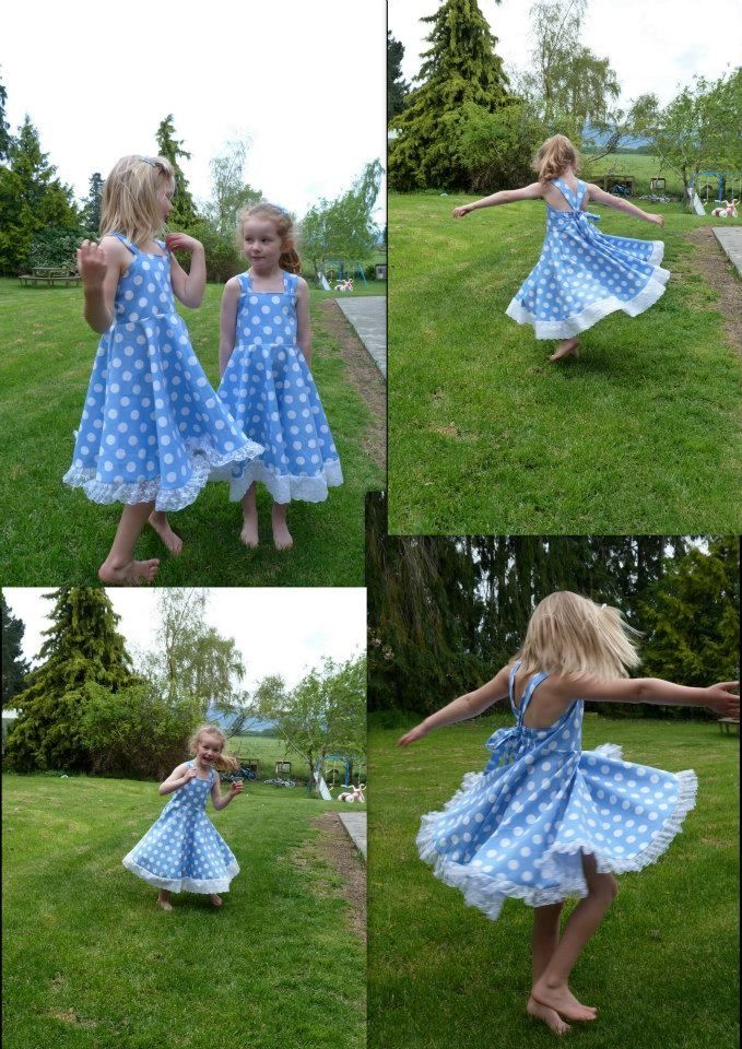 Twirly dress from Arlie Girl