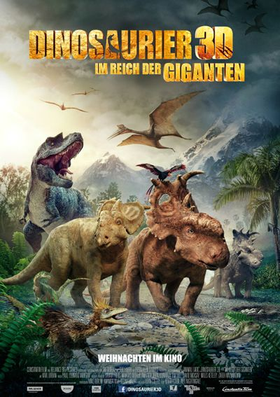 """""""Dinosaurier 3D - Im Reich der Giganten"""" von Barry Cook und Neil Nightingale. Mehr unter: http://www.kino-zeit.de/filme/trailer/dinosaurier-3d-im-reich-der-giganten"""