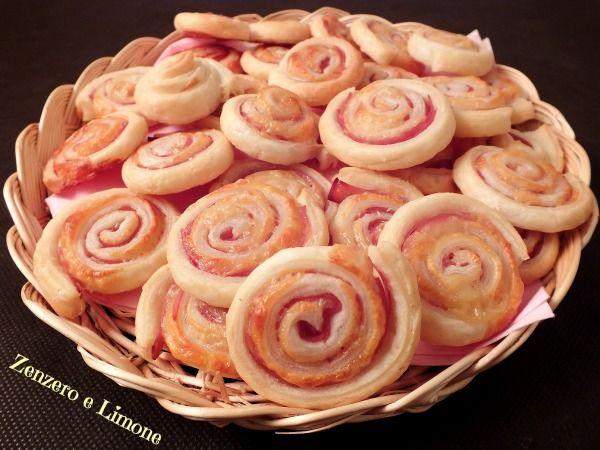 Girelle mortadella e formaggio - #fingerfood #mortadella #recipe